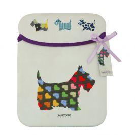 Obal na iPad Santoro London Scottie Dogs Sleeve